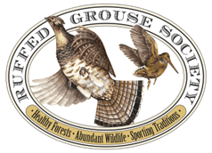 Logo for Ruffed Grouse Society.